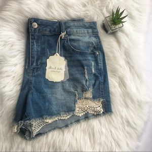 Altar'd State | distressed denim shorts